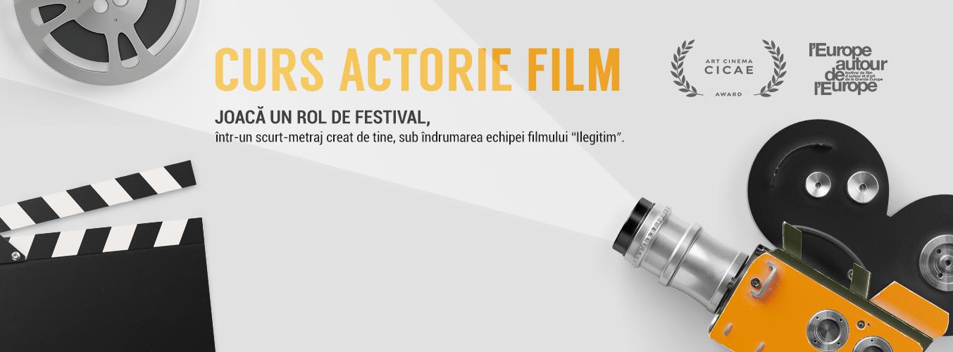 Curs Actorie de Film InLight – Fă un rol de festival –