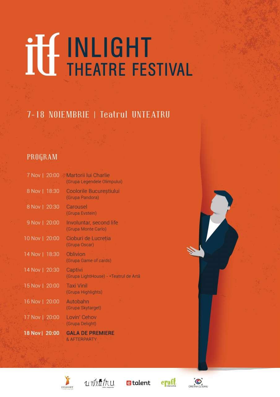 InLight Theater Festival 07-18 Noiembrie 2016
