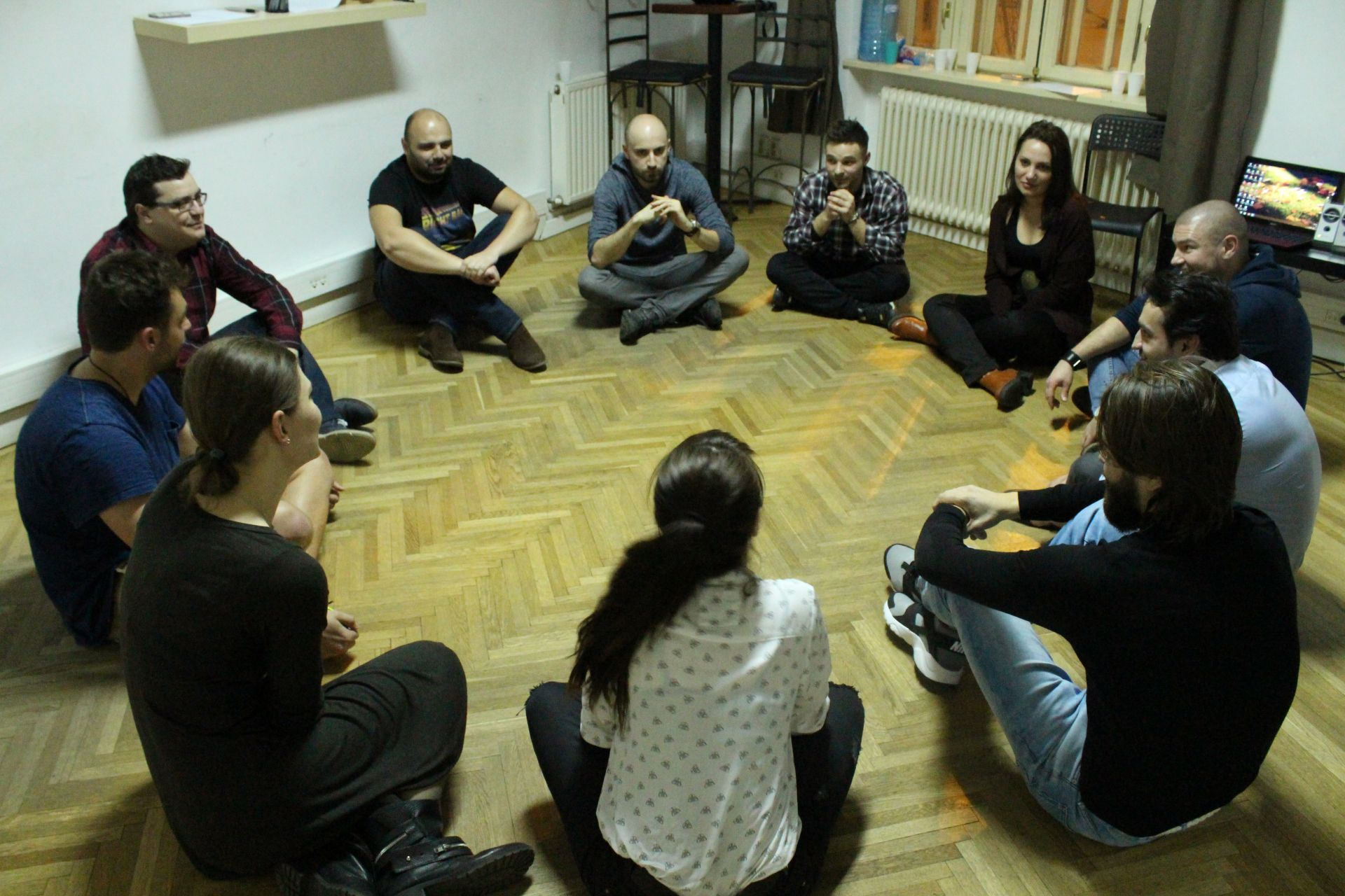 Examen Toddler – Grupa Actorie Teatru Începători – Trainspotting